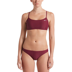 Nike Swim Essential Racerback Bikini Set Women vilain red